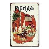 NOT Florida Horse Interessante Poster Einzigartige
