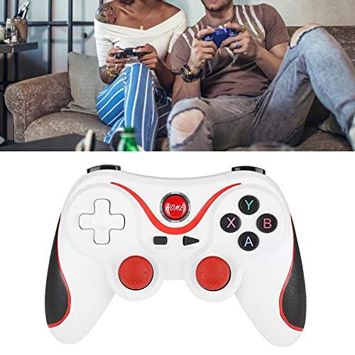 CUTULAMO Gamepad, Manija Inalámbrica 380mAh del Juego De para Andriod para La Máquina De Juego De PS3