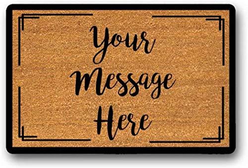solatman latex niet-geweven welkomstmat welkomstmat zakelijke deurmat nieuw getrouwde deurmat maken uw eigen deurmat schattig welkom mat 45x75CM