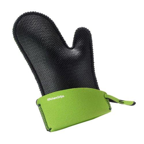 Kitchen Grips Inc 110116-22 Erweiterbar, 28cm-36,5cm, Limone Kochhandschuhe, flxaprene, grün
