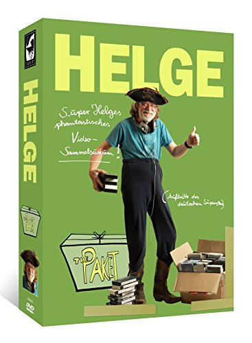 Helge Schneider - The Paket: Super Helges phantastisches Video-Sammelsurium (11 DVDs + 8 Postkarten + 2 Sticker) [Limited Edition]