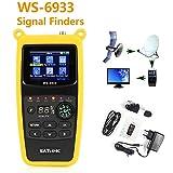 ZHITING-WS-6933 DVB-S2 FTA C & KU Band Digital Satellite Meter Finder avec boussole