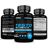 Testosterone Booster Extra Strength - Naturally Increases Energy, Strength, Muscle Mass, Stamina, & Endurance. Promotes Weight Loss & Fat Burning.