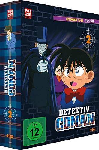 Detektiv Conan - TV-Serie - Vol.2 - [DVD]