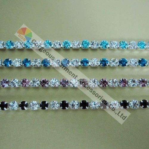 royal blue crystal browband - 5