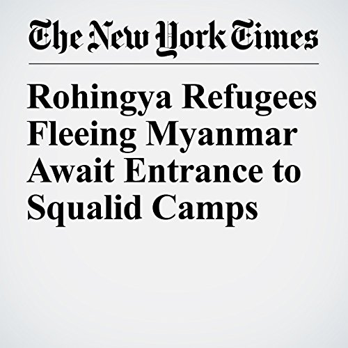 Rohingya Refugees Fleeing Myanmar Await Entrance to Squalid Camps copertina