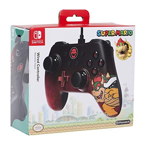 Power A - Wired Controller Bowser Icone - Nintendo Switch [Edizione: Regno Unito]