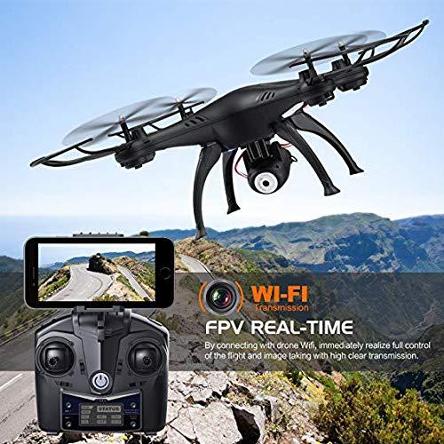 Unbekannt Monstertronic Drohne, Quadrocopter Sky Hunter mit lenkbarer Kamera