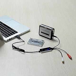 عروض Top-Longer USB 2.0 Audio Capture Card Grabber with Music Editing Software for Cassette Player Recorder Convert Cassette/Radio to MP3