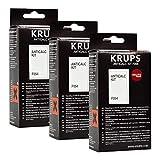 Krups Anticalc Kit* F054 Entkalker, Kalkreiniger, Kalkentferner, 3er Pack