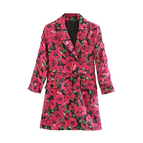 Inghilterra Vintage Floreale Stampa telai Vestito da Partito Vestito da Donna Abiti da...