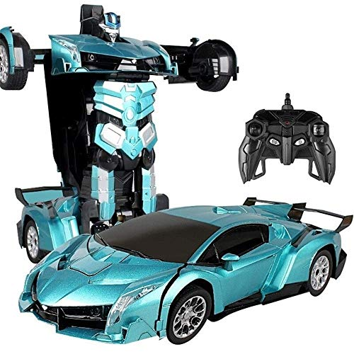 Affordable Woote RC Vehicle Autobot Gesture Sensing Transformers Remote Control Car Charging Moving Hornet Robot Racing Child Boy Toy Car New Year's for Children Birthday Present