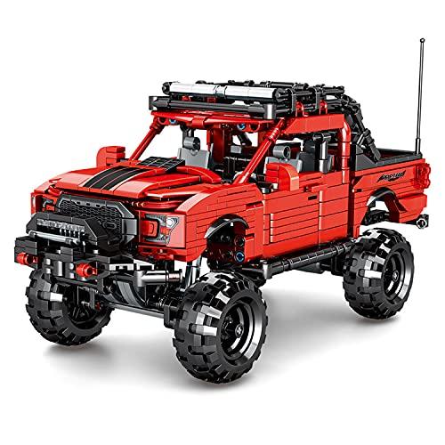BerighTIo Technic - Juego de 989 bloques de construcción para vehículos todoterreno, compatible con Lego Technic