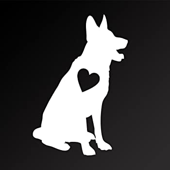 Chase Grace Studio Jack Russell Terrier On Board WHITE Vinyl Decal Sticker Cars Trucks SUV Laptops Wall Art 5 X 5 CGS158