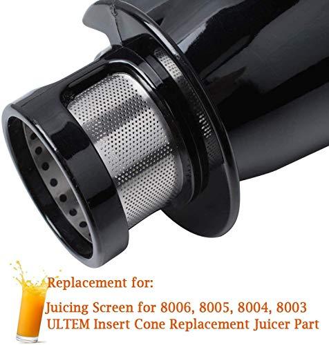 Podoy 8006 Replacement Part Juicer Auger for Omega juicers 8006 & 8004, Masticating Juicer Single Ultem Gear, with… |