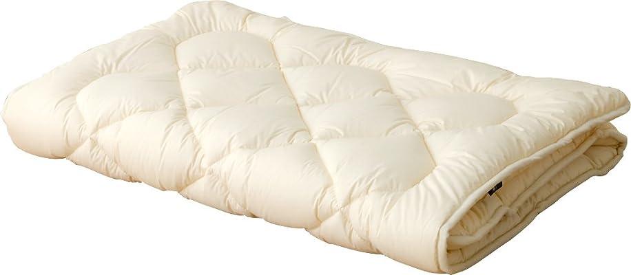 進む苦情文句覚醒エムール 洗える ベッドパッド セミダブル 日本製