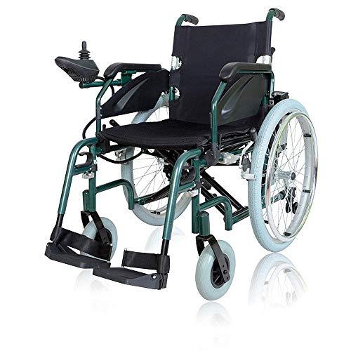 YIQIFEI Trolley Multifuncional de Aluminio para Silla de Ruedas Eléctrico, portátil, Plegable, eléctrico Inteligente, 360 °;Self Whirl Propel (Silla)