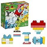 LEGO Duplo Classic Scatola Cuore, Primo Set di Costruzioni in Mattoni, Giocattoli per l'Apprendimento Prescolare per Bambini di 1,5 Anni, 10909