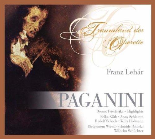 Die Fürstin Anna Elisa / Seiner Geige holder Klang: Paganini (feat. Werner Schmidt-Boelcke)