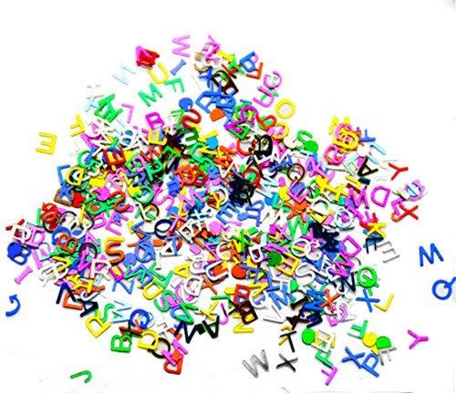 Beyond Dreams ABC Buchstaben Konfetti Schule und zu Hause - Dekoration Tisch Einschulung - Karte basteln - Streudeko - Zuckertüte Geschenke - Ballonfüllung