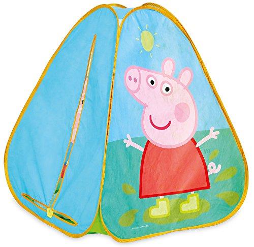 Peppa Pig KidActive - Tienda de campaña Plegable para Interiores o Exteriores, portátil, diseño de Peppa Pig y George