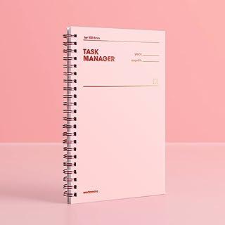 [MOTEMOTE] Task Manager 100 Days Color Chip (Rosequarts) / Study Planner/Planner