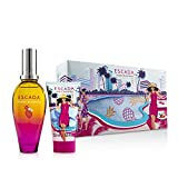 Escada Miami Blossom Giftset EDT 50ml + BL 50ml + Cosmetic Bag