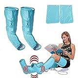 Aparato de masaje de piernas, compresor de aire, para mejorar la circulación...