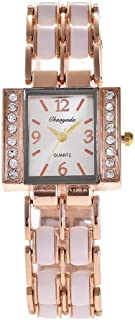 Beautiful Watches Chaoyada Fashion Ladies Watch Diamond-Encrusted Ceramic Watch Bracelet Watch