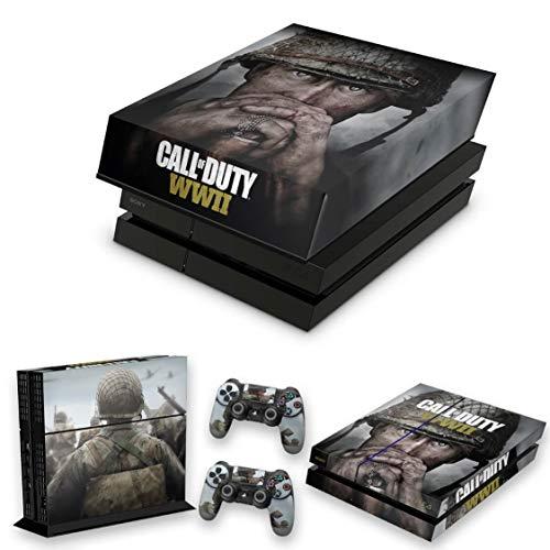 Capa Anti Poeira e Skin para PS4 Fat - Call Of Duty Ww2