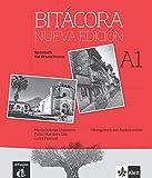Bitacora. Nueva edición. A1.Übungsbuch + Audios online: Curso de español