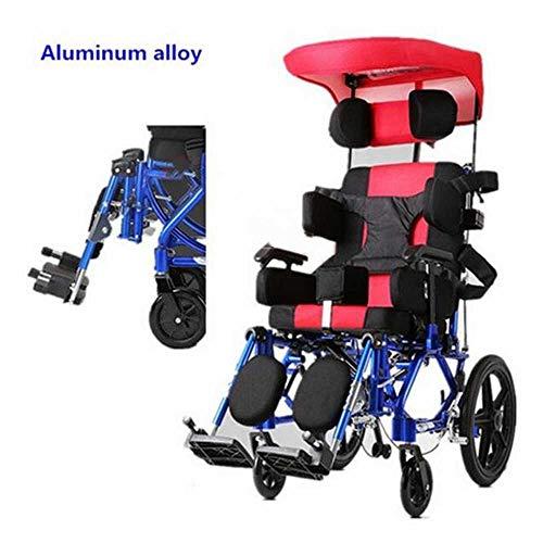 MEICHEN Aluminium günstigen Preis Kinder höhenverstellbar aktive tragbare manuelle Rollstuhl für Kinder,Seatwith46cm