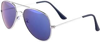 Kids Baby Aviator Sunglasses,Shileded Metal Frame Lenses for Boys/Girls 3-15 Age