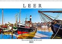 LEER Museumshafen und Altstadt (Wandkalender 2022 DIN A3 quer): Leer ist das Tor zu Ostfriesland (Monatskalender, 14 Seiten )