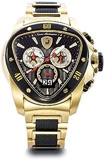 Lamborghini Two Tone Stainless Black dial Chronograph for Men [1119]
