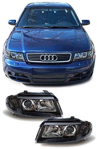 Carparts-Online 13860 Facelift DE Klarglas Scheinwerfer schwarz