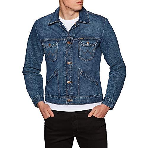 Wrangler Icons Denim Jacket, Blu (3 Years 925), Large Uomo