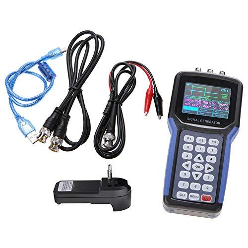 JDS2062A S4R2 30MHz AC110-220V 2-Canales Medidor de Frecuencia del Generador de Señal Digital Portátil (SIN Batería)(EU plug)