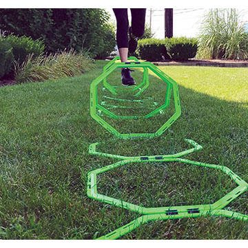 Sports Health Octa-Rings Exercise and Agility Rings with Carrying Case