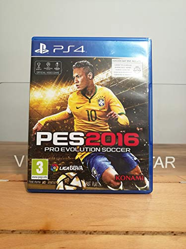 Pro Evolution Soccer 2016 Day One PS4 PlayStation 4 Play 4(PROX)