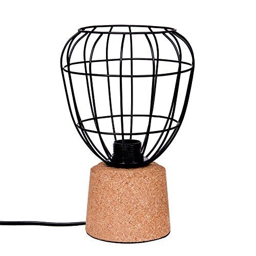 Nachtlampje Scandinavisch design tafellamp Halmstad van kurk | lamp kurklamp