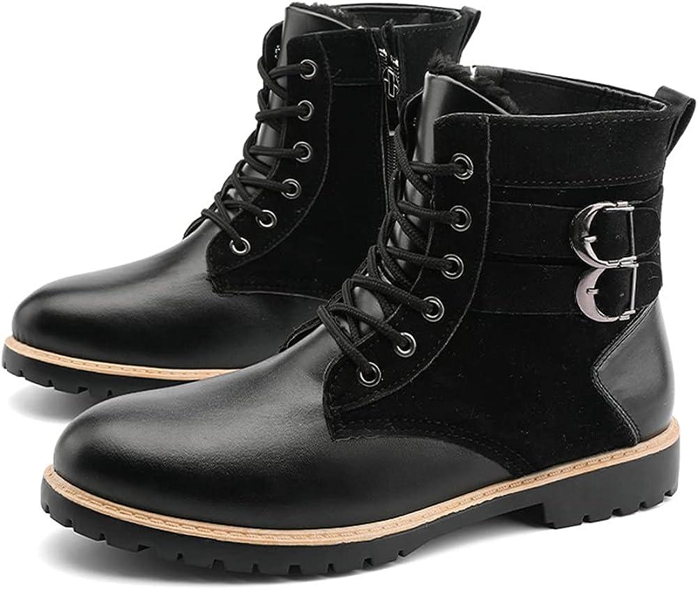Work Boots for Men Indestructible Composite Toe Boots Slip Resistant Construction Shoes Size 6.5-10