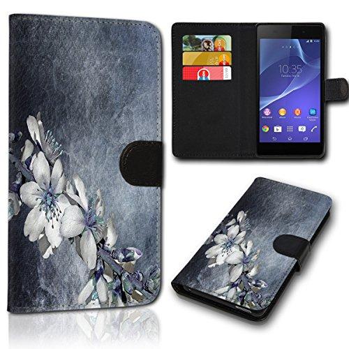 sw-mobile-shop Book Style HTC One M8 / One M8S Tasche Flip Brieftasche Handy Hülle Kartenfächer für HTC One M8 / One M8S - Design Flip SVH125
