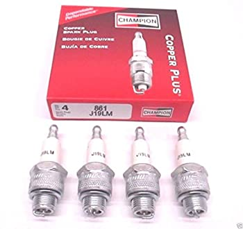 4 Pack Genuine Champion J19LM Spark Plug Copper Plus 861 __#powered_by_moyer