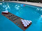 Tiki Guy Foam Beer Pong Table - 6ft, Foam, All Weather, Portable - Floats Anywhere