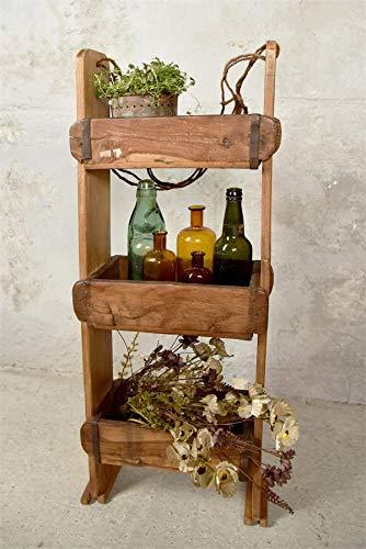estanterias ladrillo y madera
