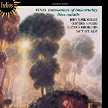 Finzi: Intimations of Immortality, Dies natal is by John Mark Ainsley