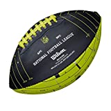 Wilson NFL London games 2018 Team Logo Mini Football [black/electric green]
