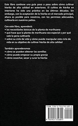 5184RBtR8QL - Cómo cultivar marihuana en exteriores: Una guía paso a paso para principiantes en el cultivo de marihuana de alta calidad en exteriors (Spanish Edition)