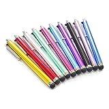 Amyou 各種対応 タッチペン スマートフォン for iPhone/iPad/Nexus など(ブラック、シルバー、ローズ)3本セット